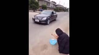 Most Funniest THEFT of a MERCEDES-BENZ CAR
