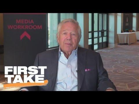 Robert Kraft Interview (Part 1)   First Take   March 28, 2017