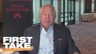 Robert Kraft Interview (Part 1) | First Take | March 28, 2017
