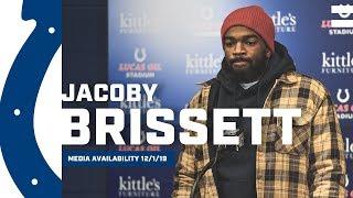 Jacoby Brissett Postgame Press Conference: Colts vs. Titans