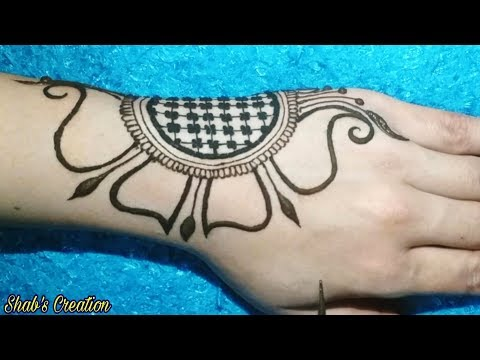 Very Attractive Arabic Mehndi Design for Full Hand   Simple /Easy Mehendi Designs    Mehandi Design thumbnail