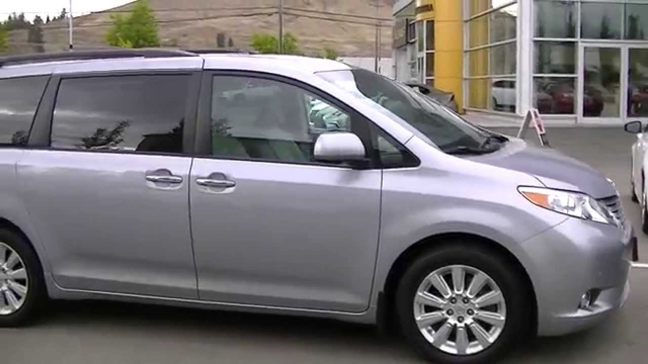 2012 Toyota Sienna Xle Limited Awd Video 001 Youtube