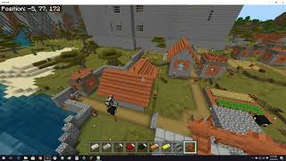 Changing to 1.11 Villagers! Minecraft Bedrock Create Kingdom of Erart Episode 12