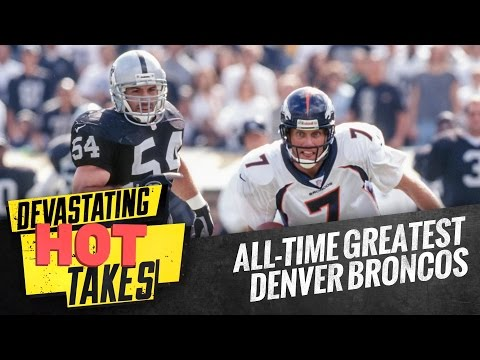 All-time Greatest Denver Broncos