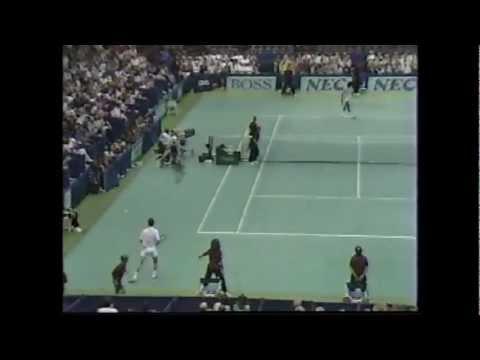 John McEnroe vs Yannick Noah 1989 Davis Cup 1/3