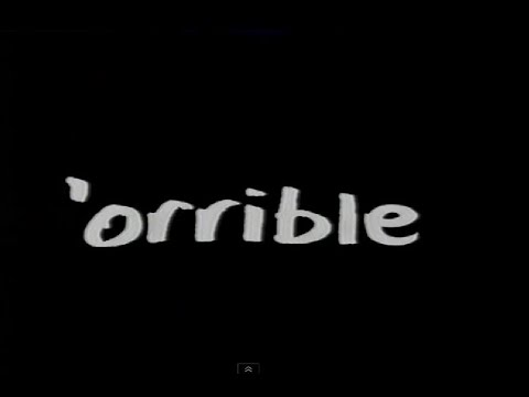 """""""Orrible"""" A BBC Comedy series. Broadcasted about 2004"""
