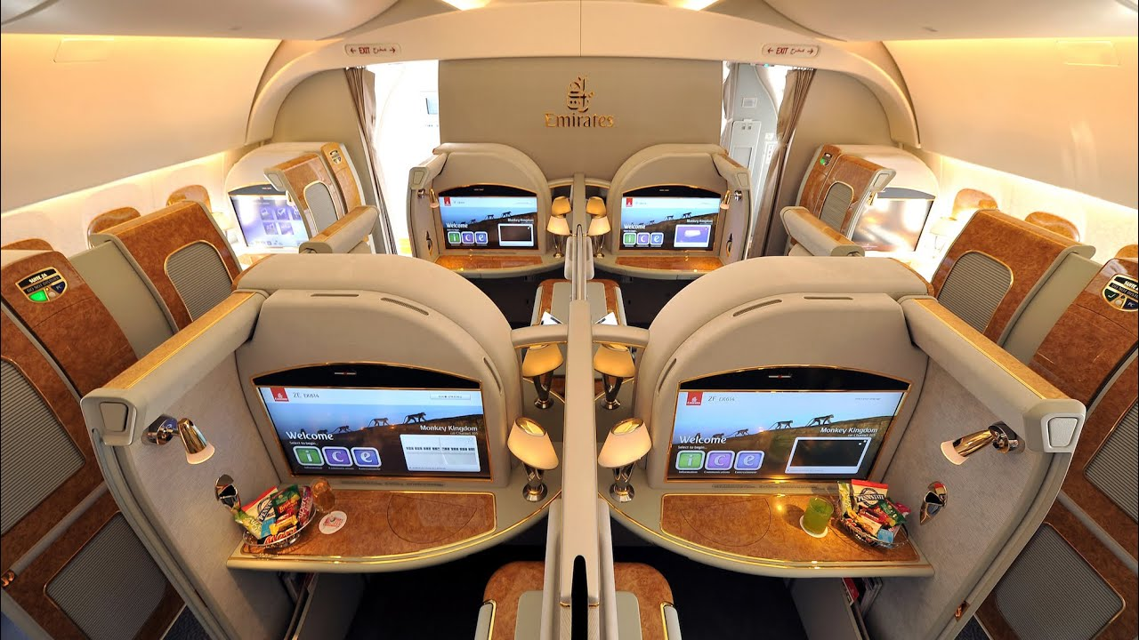 Bedroom Chair Singapore Grey And Ottoman Emirates A380 First Class Dubai To Amsterdam (+ Lounge): A Trip Report - Youtube