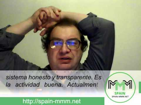 Video mensaje de Sergey Mavrodi a los participantes de España