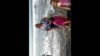 Pasandola chingon en Playa bella vista Sinaloa