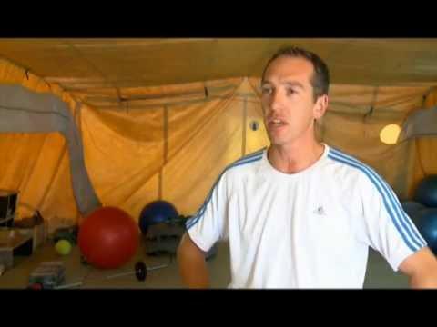 Portrait d'un Moniteur de sport engagé en afghanistan