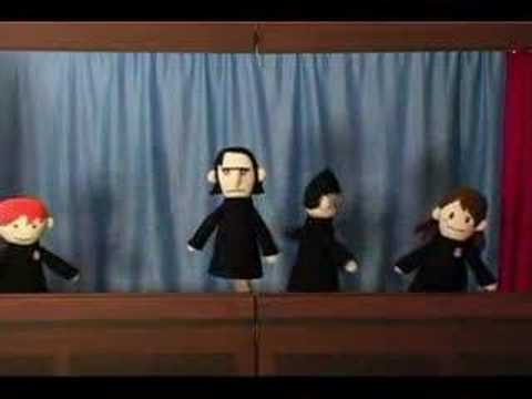 Harry Potter Puppet Pals - The Mysterious Ticking Noise