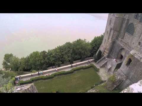A Tour Through Mont St Michel - Normandy, France