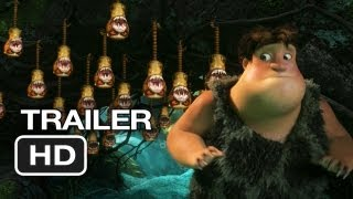 The Croods Official Trailer #1 (2013) - Nicolas Cage, Emma Stone Movie HD