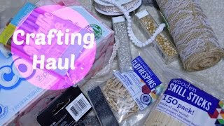 Crafting Haul (doll House &  Planner Supplies)|march 2015