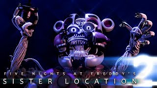 FNAF SISTER LOCATION 2 TRAILERS  - ТРЕЙЛЕРЫ ФНАФ SISTER LOCATION 2 - FNAF 8 - ФНАФ 8 (FAN TRAILERS)