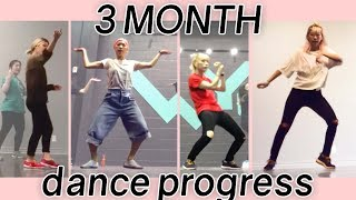 3 Months Learning Dance (hip hop) PROGRESS REPORT