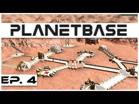 Planetbase - Ep. 4 - Solar Flare! - Let's Play - Closed Beta Gameplay