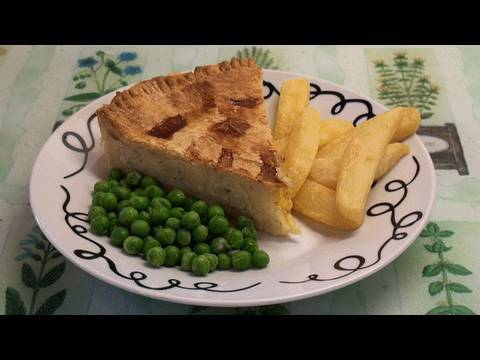 Simple Cheese And Onion Pie Recipe
