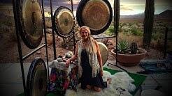 Sunset Gong at VU Bistro & Spa Fountain Hills, AZ