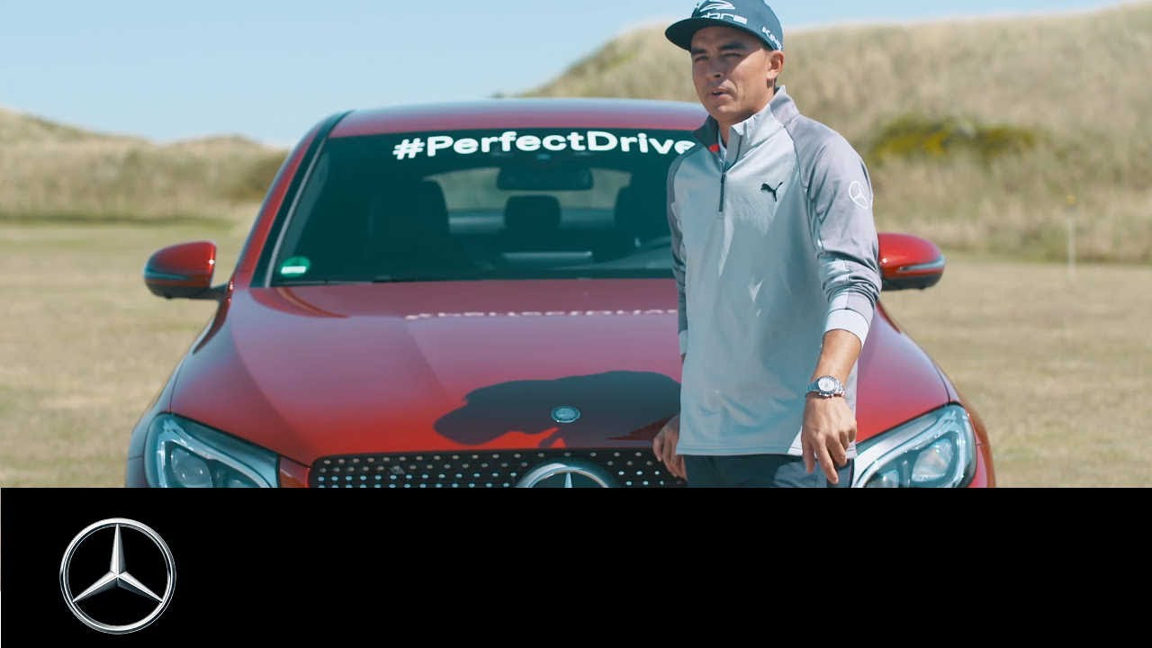 Mercedes-Benz is catching up with Rickie Fowler.