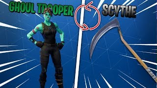 How to get Ghoul Trooper and Scythe in Fortnite BR (Works in Game)