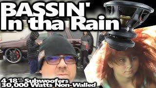 Bassin' in tha Rain - Young bassheads Gittin' it - Tremendous BASS #211