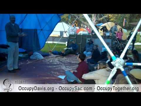 Abolitionism Teach-in at Occupy UC Davis General Strike, Nov 28