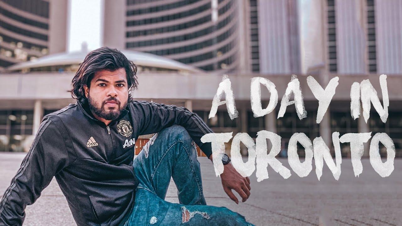 A Day In Toronto || Toronto Vlog | Niagara 🖤🖤