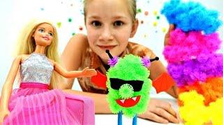 Конструктор Банчемс: Кого слепила кукла Барби?