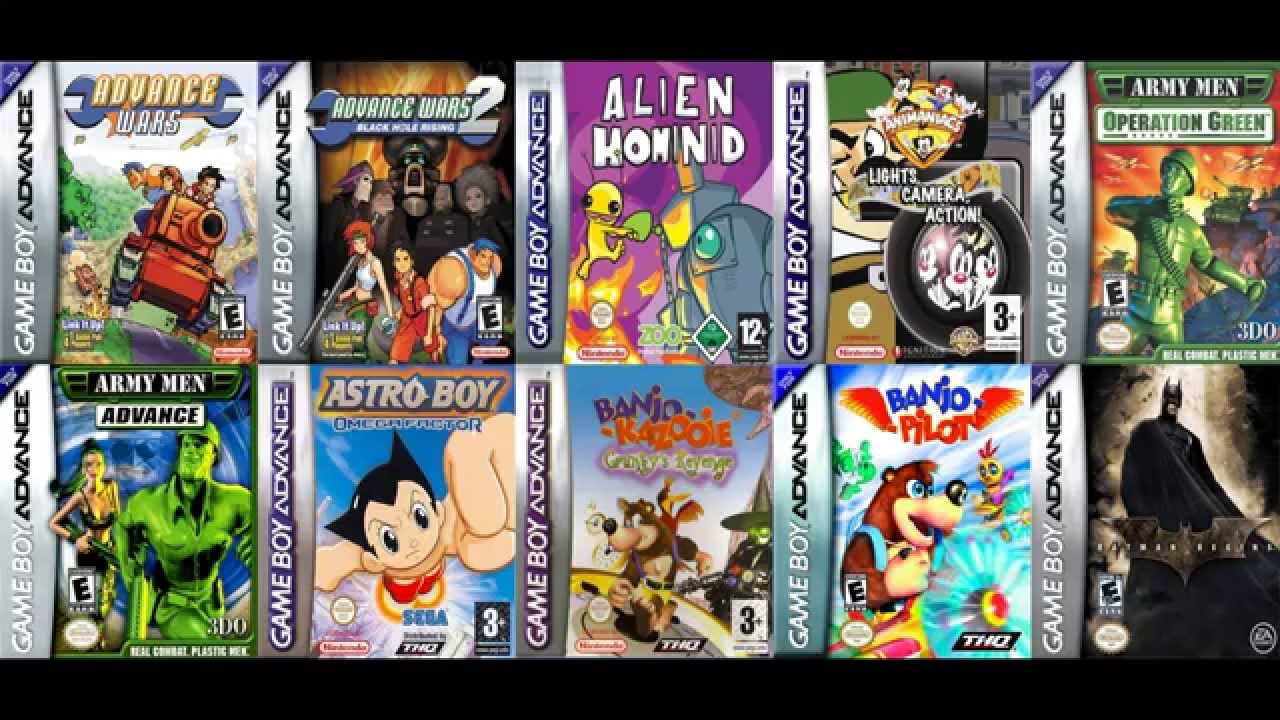 Descarga Pack De 10 Juegos Gba 1 Youtube