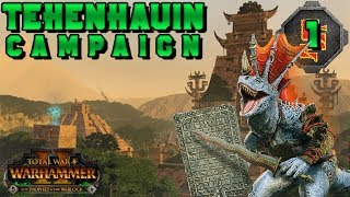 EARLY ACCESS Tehenhauin Campaign #1 | Total War: Warhammer 2 The Prophet & The Warlock