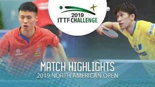 Xu Haidong vs Maharu Yoshimura   2019 ITTF North American Open Highlights (R16)