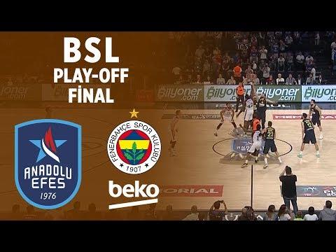 BSL Play-Off Final 2. Maç Özeti | Anadolu Efes 101-93 Fenerbahçe Beko