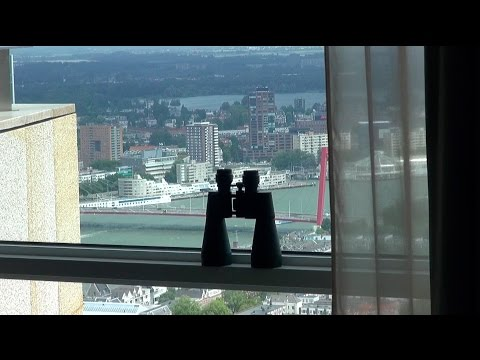 Penthouse op de 44 verdieping, eind resultaat @ Rotterdam - Ennik Interieur