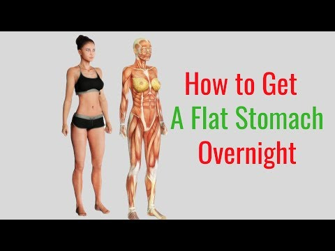 how-to-get-a-flat-stomach-overnight-with-body-wrap