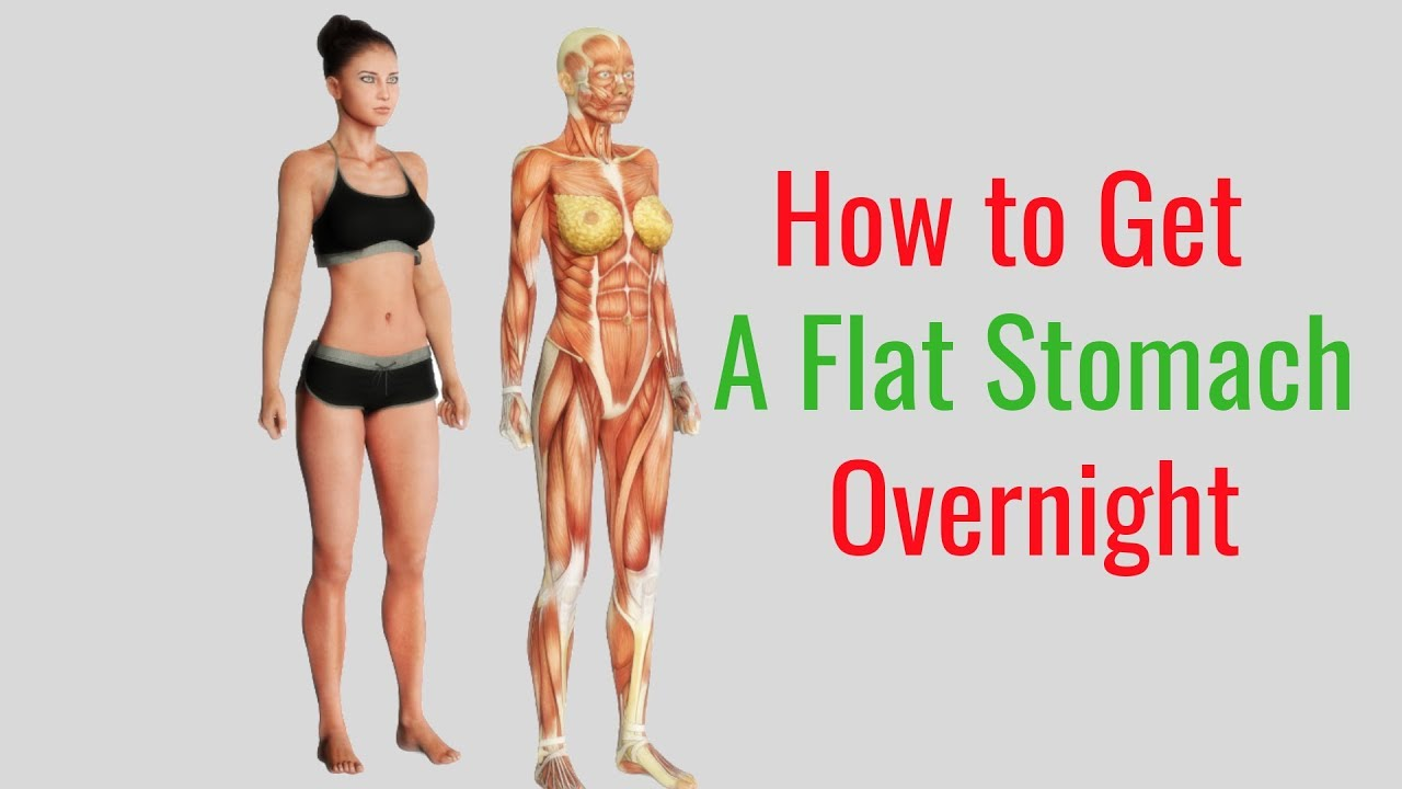 How to Get a Flat Stomach Overnight with Body Wrap