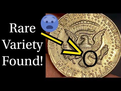Rare Kennedy Half Dollar Variety Found!