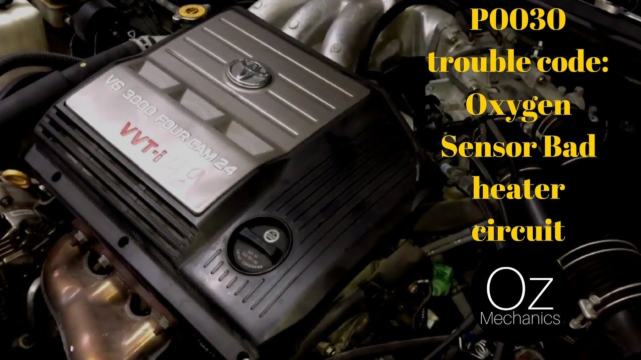 P0030 Trouble Code Oxygen Sensor Bad Heater Circuit Better 2010 Ford Escape Fuse Box Location Version