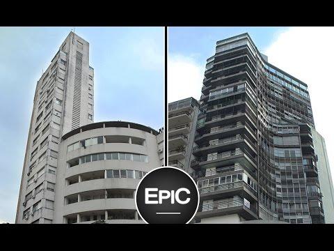 Edificio Farallón & Edificio La Comercial - Rosario, Argentina (HD)