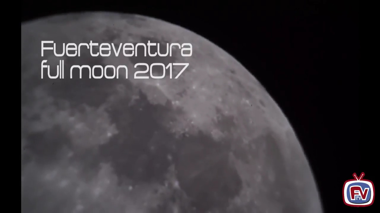 Fuerteventura full moon 2017