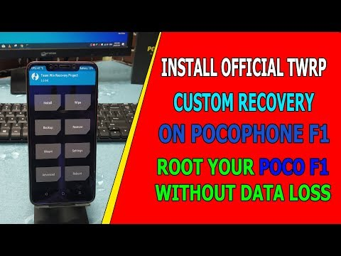 Official PitchBlack Recovery 2 9 0 For Poco F1! by Quazwersxce X