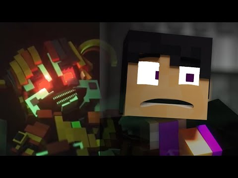 Crawling - A FNaF Minecraft EnchantedMob AMV (Song By CG5) Five Nights 3/5