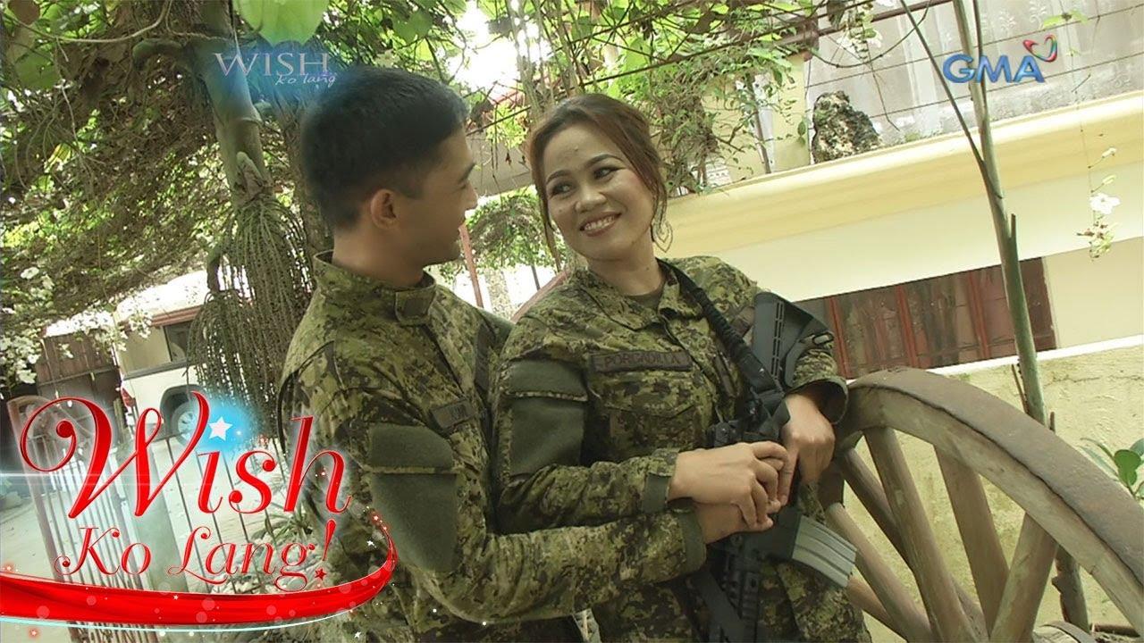 Wish Ko Lang: Natagpuang forever nina Private Kristine at Corporal Denemar
