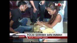 Polisi Gerebek Rumah Tempat Pesta Sabu dan Seks