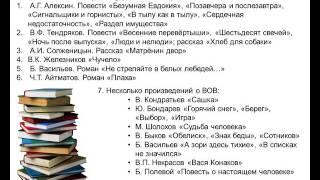 Итоговое сочинение. ЧТО и КАК прочитать?