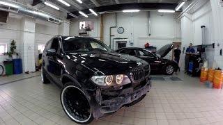BMW X5 E53 Hamann тюнинг дороже машины [Часть 2](История про три BMW X5 E53 в тюнинге Хаманн. 2 серия! Как перевернули БМВ х5 и что с ним будем делать. Пишите в..., 2016-07-23T17:32:42.000Z)