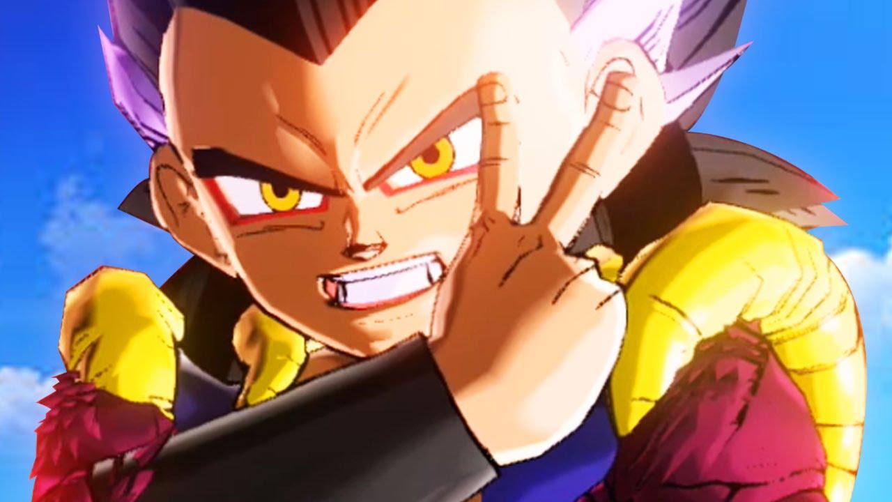 Ssj4 Gotenks Ssj3 Goten Buu Trunks Absorbed Dragon Ball