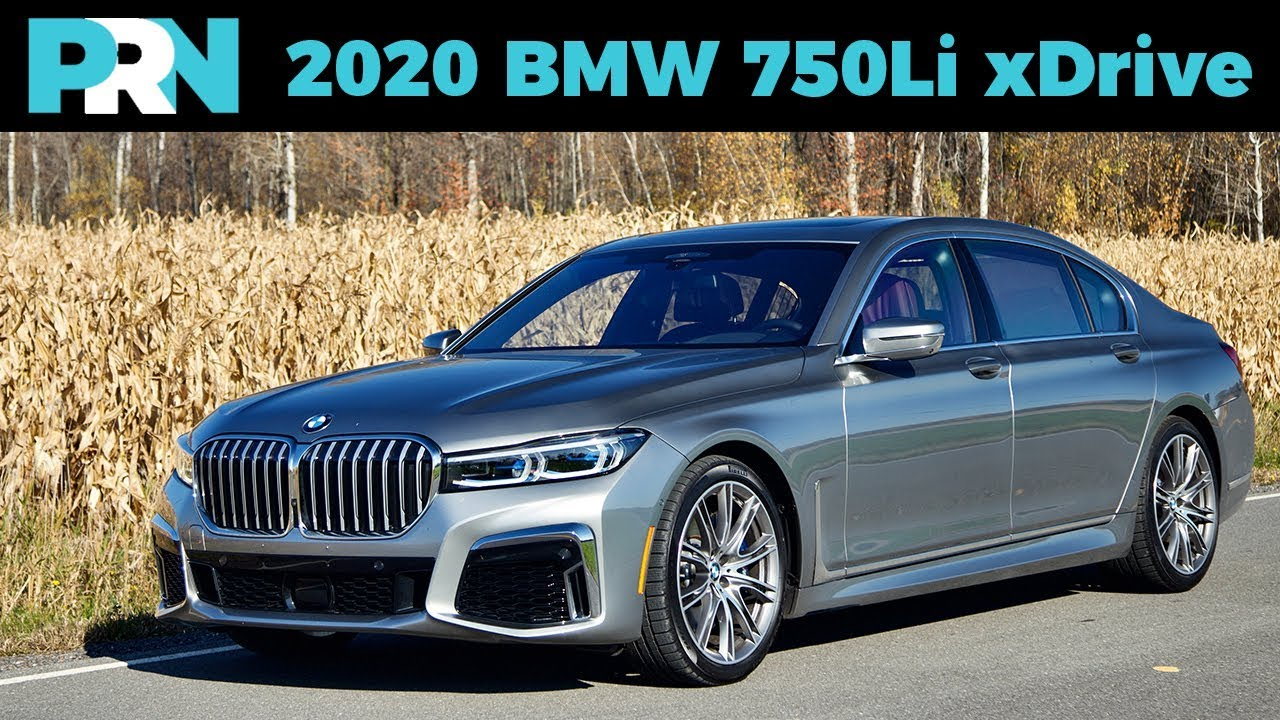 I LOVE the BIG Grille!   2020 BMW 750Li xDrive Full Tour ...