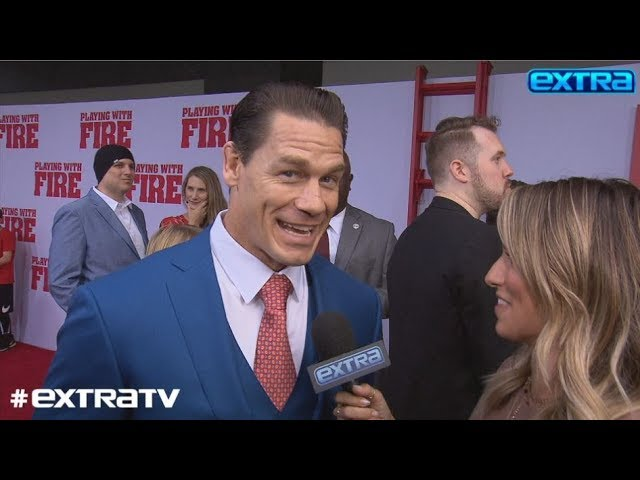 John Cena & Shay Shariatzadeh Make It Red-Carpet Official, Plus\: His Future with WWE