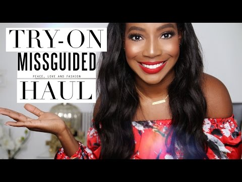 HUGE SPRING MISSGUIDED TRY-ON HAUL   Whitney Wiley